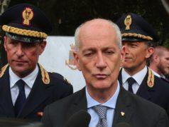 Il capo della Polizia, prefetto Franco Gabrielli