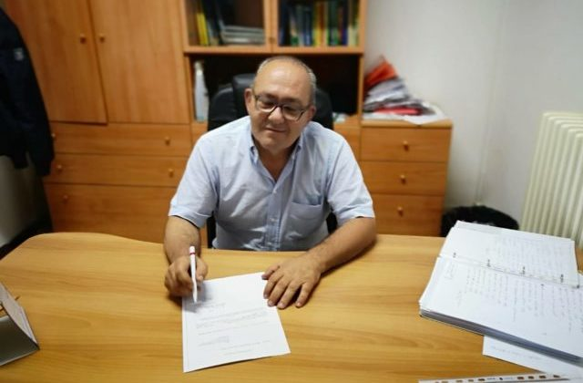 Il presidente della Jesina Gianfilippo Mosconi