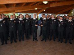 Il Generale di Corpo d'armata Giovanni Nistri, comandante generale dell'Arma dei Carabinieri, in visita ad Ancona