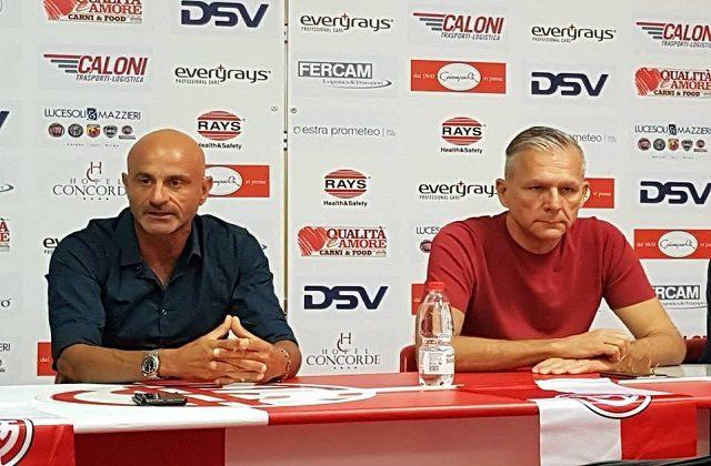 Stefano Marconi e Francesco Nocera nel giorno della presentazione