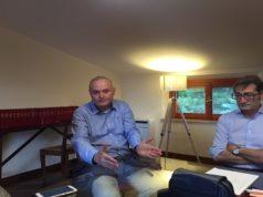 """Il preside dell'istituto comprensivo """"Caio Giulio Cesare"""" Fabio Radicioni e l'avvocato Antonino Osimani"""