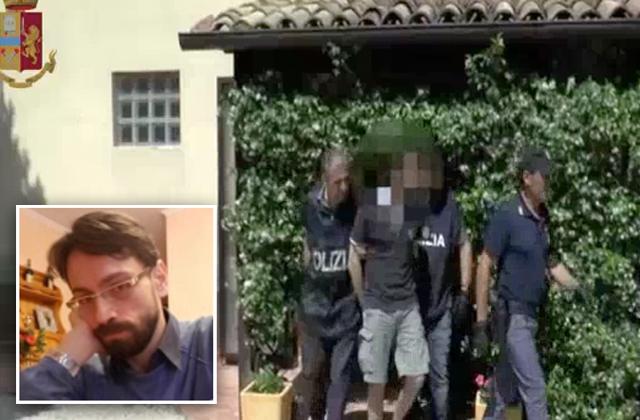 L'arresto di Claudio Pinti