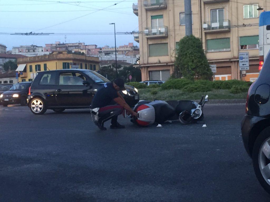I rilievi della stradale di Fabriano