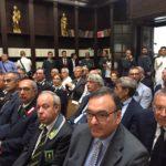 In primo piano il presidente dell'Autorità portuale Rodolfo Giampieri