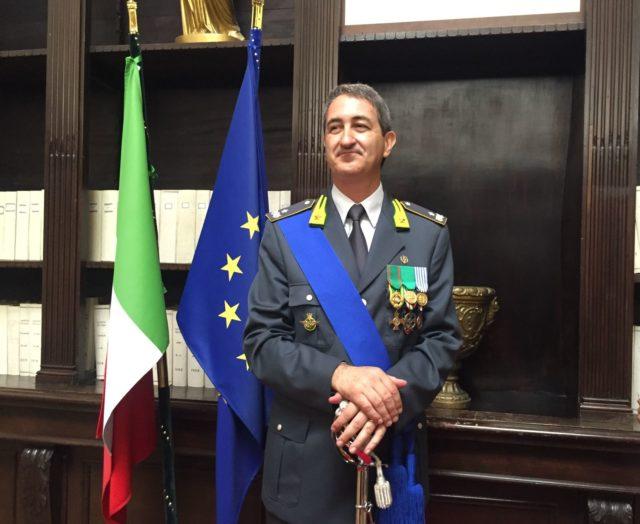 Il comandante provinciale Carozza