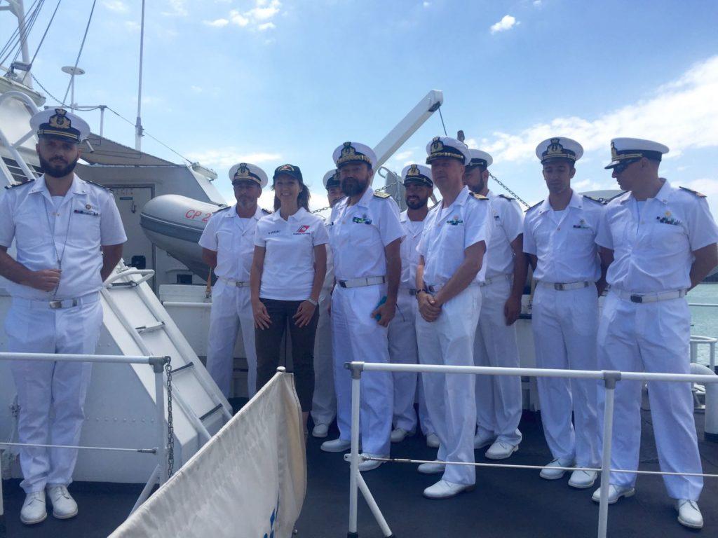 A bordo con l'equipaggio della Guardia Costiera
