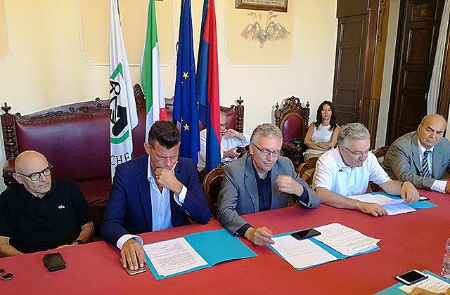 La conferenza sui lavori sul fiume di Senigallia