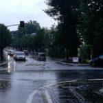 La viabilità in corso Matteotti a Senigallia