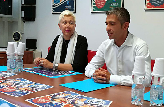 Michela Stefanelli e Antonello Delle Noci