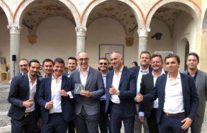 Francesco Casoli e il team di Elica