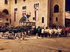 Un momento dei giochi popolari a Fabriano