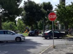 incidenti a Senigallia: il sinistro stradale alla Cesanella