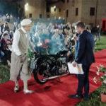 Una delle moto d'epoca in concorso a Italianissima, a Senigallia