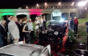 Una delle auto in concorso a Italianissima, a Senigallia