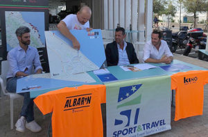 Roberto Pasquinelli (Sport & Travel) illustra i percorsi dell'Albarun