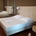 Una delle camere di lusso del Raffaello Hotel di Senigallia