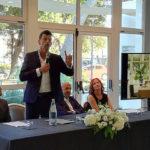 L'intervento di Mangialardi all'inaugurazione del Raffaello Hotel a Senigallia