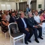 Il pubblico all'inaugurazione del Raffaello Hotel a Senigallia
