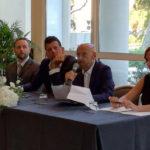 L'intervento di Franco Bastianelli all'inaugurazione del Raffaello Hotel a Senigallia