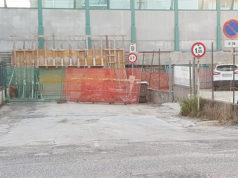 Il sottopasso chiuso per lavori in via Terni: collega la statale con via Perugia