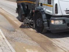 spazzamento strade, spazzatrice