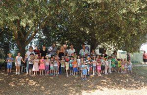 Tutti i bambini che hanno partecipato al concorso di Astea rivolto alle scuole