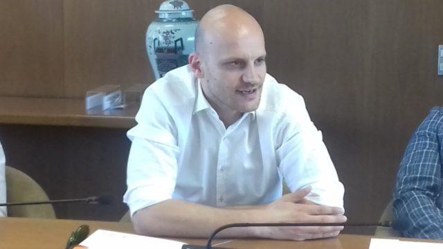 Damiano Cagnazzo, tecnico dell'Aurora Basket
