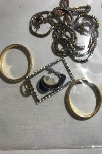 I gioielli di Emma Grilli recuperati dai carabinieri