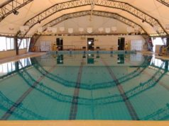 La piscina comunale di Jesi (foto presa dalla pagina Facebook della società Nuova Sportiva