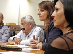 Antonella Moretto (Fi-Mar onlus), Romina Pergolesi (M5S), Paolo Poli (Sirca), Michele Gardarelli (Sirca Marche, Fimar)
