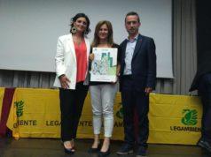 L'assessore Romina Calvani premiata da Legambiente