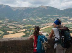 Tappa a Camerino per la Lunga Marcia nelle Terre Mutate, uno dei luoghi inseriti nel circuito di trekking solidale