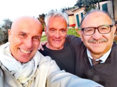 Da sinistra Antonello Maraldo, Michele Caporossi e Alfredo Cordoni