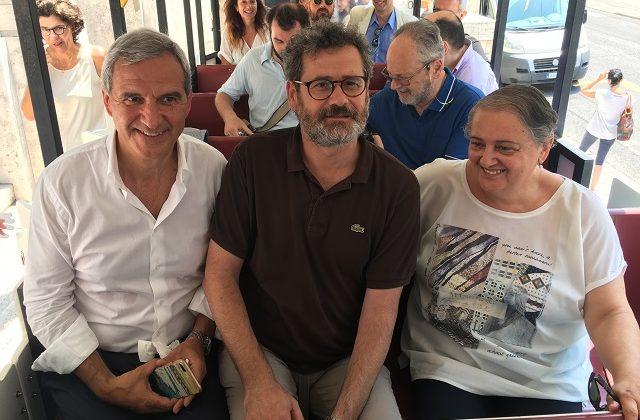 Nella foto: Copparo, Marasca e Mancinelli