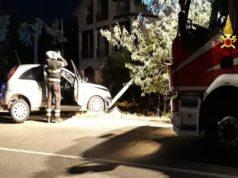 L'incidente in via Manzoni a Loreto