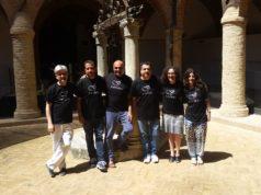 L'assessore Ilaria Venanzoni e gli organizzatori di Fabrijazz