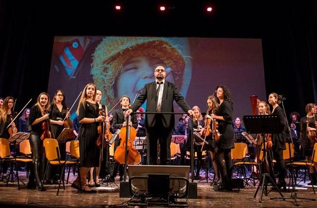 Fisarmonica, a Castelfidardo torna il Pif
