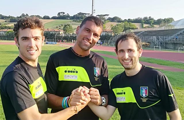 Da sinistra: Fabrizio Ricciardi, Marco Rossetti e Antonio Marco Vitale
