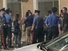 I carabinieri intervenuti in via Bixio dopo la lite