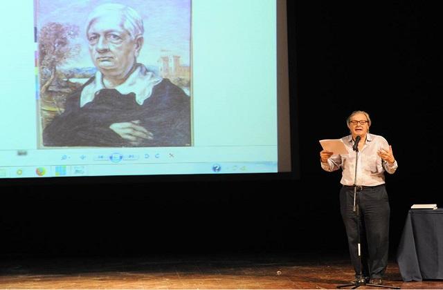 Osimo, Vittorio Sgarbi incanta il teatro per la lectio su De Chirico