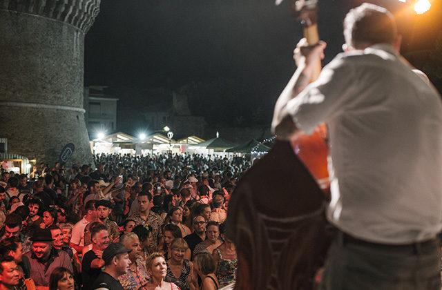 Il Kraken Stage del festival. Foto di Matteo Crescentini