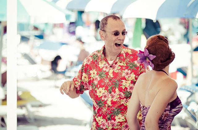 Balli in spiaggia per il Summer Jamboree. Foto di Simone Luchetti