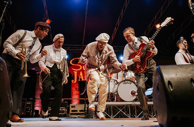 Summer Jamboree: show in cetro storico. Foto di Marco Matteucci