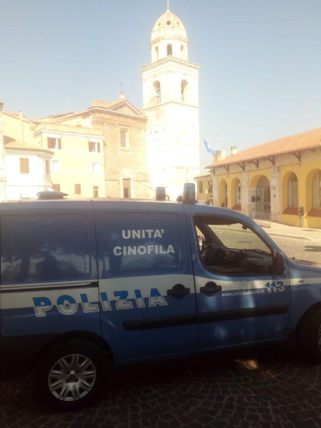 L'Unità Cinofila della polizia