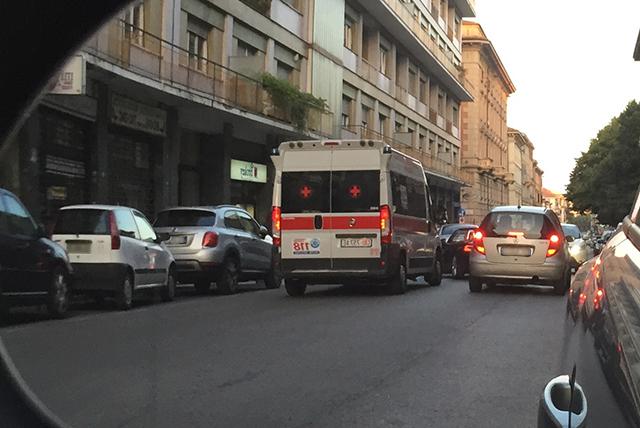 La Croce Rossa in corso Amendola dopo l'investimenti
