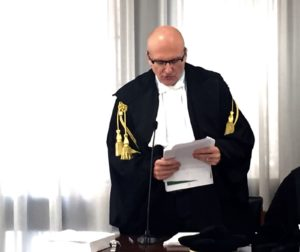 Il procuratore generale Giuseppe De Rosa
