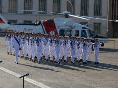 La cerimonia per il 153° anniversario della Guardia Costiera