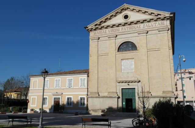 La chiesa di S.Maria del ponte al Porto, a Senigallia