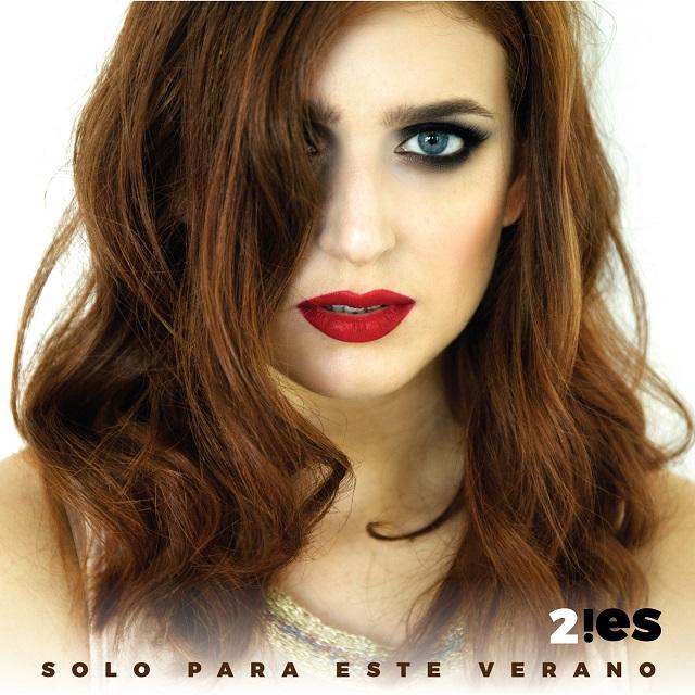 """Alice Latini, in arte 2IES, e la copertina del singolo """"Solo para este verano"""""""