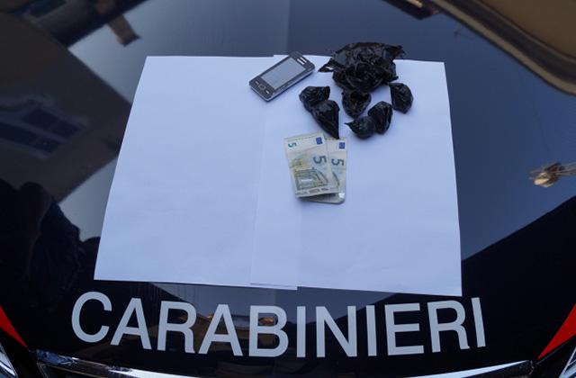 La droga sequestrata dai Carabinieri di Senigallia